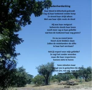 gedichtdodenherdenking